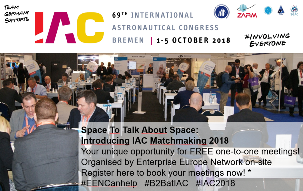 IAC 2018 Matchmaking Event